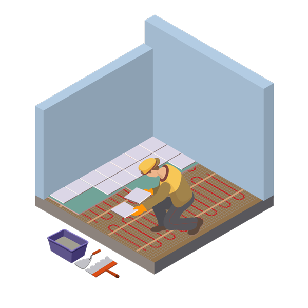 Illustration Handwerker