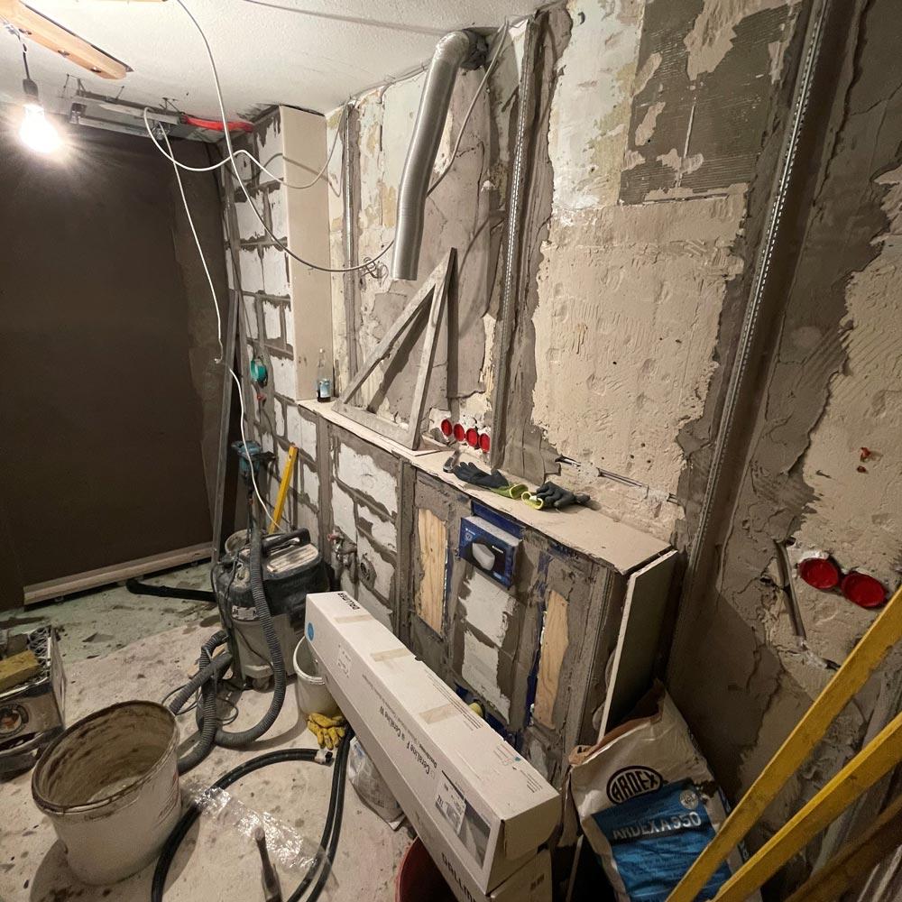 Baustelle Innenbereich